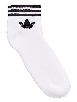 Free Shipping Footlocker Finishline Originals Pack Sock 3 nbsp adidas  Ankle White Trefoil Sale Cheap Price wLn6WGx