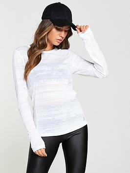 reebok-long-sleeve-top-whitenbsp