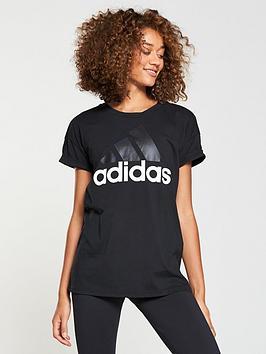 Essentials Black  adidas nbsp Linear Tee Free Shipping Low Cost PTjrWlj