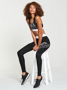 Alphaskin Bra nbsp adidas Logo Sport Black  Pictures For Sale eDE4llKc