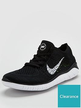f9a57fd9e7996 Nike Free RN Flyknit 2018 - Black White