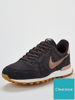 online retailer a7183 e0723 Nike Internationalist - Black Grey
