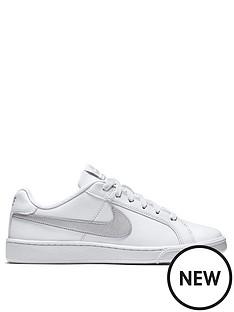 a7fa2ed15e3 Nike Court Royale - White Silver