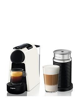 nespresso-essenza-mini-coffee-machine-with-aeroccino-by-magimix-pure-white