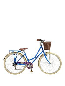 elswick-elegance-womens-700c-heritage-bike-6-speed-shimano-revoshift-amp-freewheel-muguards-propstandnbsprear-rack-amp-front-basket