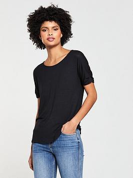 v-by-very-knot-sleeve-tshirt