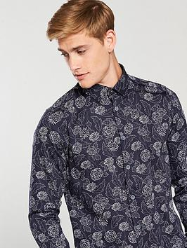 Buy Cheap Extremely Outlet Hot Sale Ted Baker Shirt Print Floral Dotted Ss Cheap View Under 50 Dollars msIkZAgJ