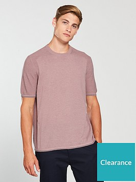 ted-baker-ss-knitted-crew-neck-t-shirt