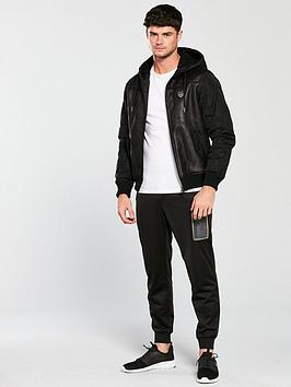 Outlet Exclusive Discount 100 Authentic EA7 Jacket Emporio Armani Hooded d4jcGh