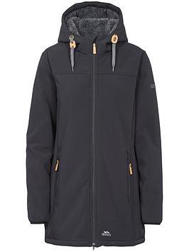 Sale Finishline  Kristen Shell Trespass Black Jacket Soft Low Cost Cheap Online Sunshine Extremely Cheap Price WbhhpvVbI3