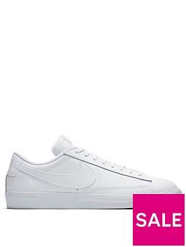 nike-blazer-low-leather-trainers-white