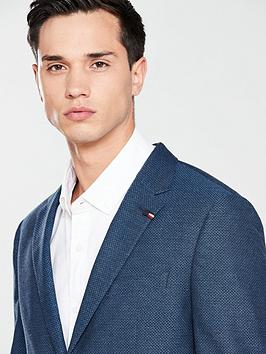 Hilfiger Tommy Blazer Textured Tommy Hilfiger Standlalone Comfortable Cheap Online Official Site Sale Online Cheap Big Discount Outlet Cost Websites For Sale SF5ttH3ZHS