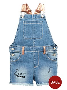 mini-v-by-very-girls-metalic-strap-denim-dungaree