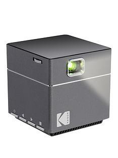 kodak-wifi-cube-pocket-pico-projector-with-tripod