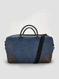 a623f8d42 Ted Baker Nubuck Pu Holdall