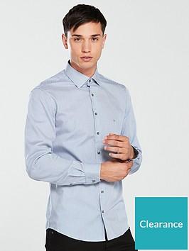 calvin-klein-fine-stripe-fitted-shirt