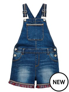 v-by-very-girls-aztec-short-dungaree