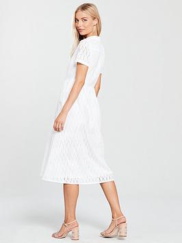 Cheap Sale Low Price Fee Shipping Clearance Fashionable Anglaise  Broderie White Dress Mango Midi Popular For Sale Sneakernews Cheap Price Footlocker Finishline Cheap Price BpNj2J0