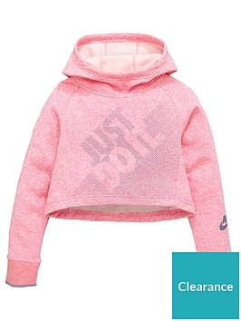 nike-sportswear-older-girls-cropped-hoodienbsp--pinknbsp