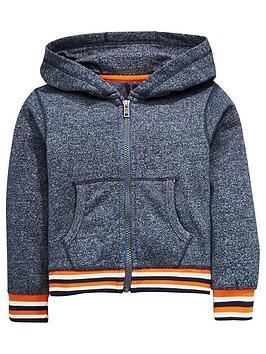 mini-v-by-very-stripe-trim-zip-through-hoody