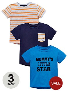 mini-v-by-very-mummy039s-little-star-3-pack-t-shirts