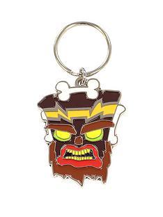 crash-bandicoot-uka-uka-key-chain