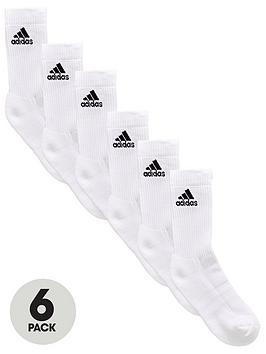 adidas-6-pack-performance-sock-whitenbsp