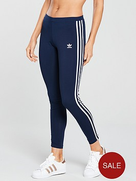 adidas-originals-3-stripe-tight-navynbsp
