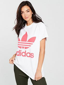 adidas-originals-big-trefoil-tee-whitepink