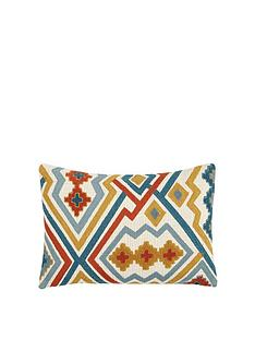 gallery-kazaar-hand-embroidered-cushion-ochre-and-blue
