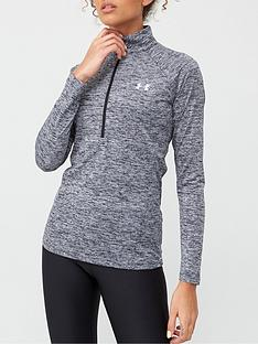 under-armour-tech-twist-12-zip-top-black