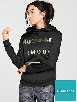 under-armour-metallic-hoodienbsp--black