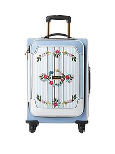 river-island-blue-stripe-embroidered-four-wheel-suitcase