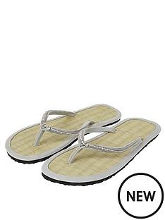 accessorize-seychelles-sparkle-seagrass-flip-flop-sandal-grey