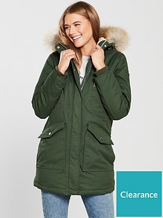 tommy-jeans-longlinenbsppadded-hooded-sherpa-parka-green