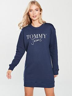 tommy-jeans-logo-sweatshirt-dress-bluenbsp