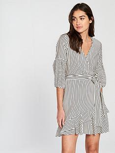 river-island-stripe-waisted-dress-white