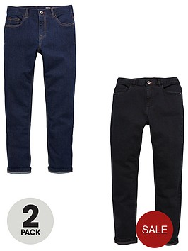 v-by-very-2-pack-slim-fit-jeans-rinse-wash-and-black