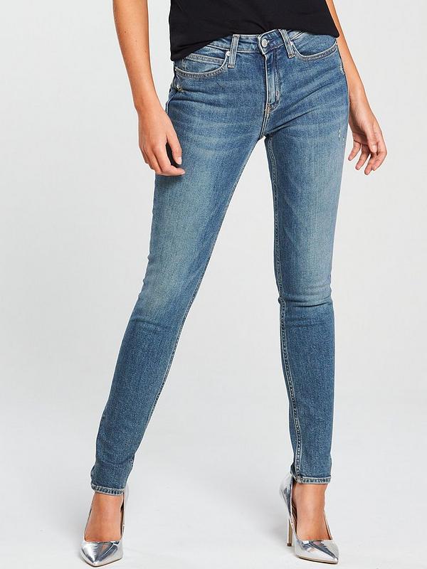 Mid Rise Skinny Jean