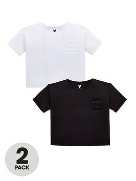 v-by-very-girls-2-pack-ruffle-pocket-t-shirts-multi