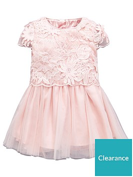 1460a5040 Baker by Ted Baker Girls 3D Lace & Tulle Prom Dress | littlewoodsireland.ie