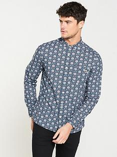 a69ae58d44b Pretty Green Patricroft Printed Ls Shirt