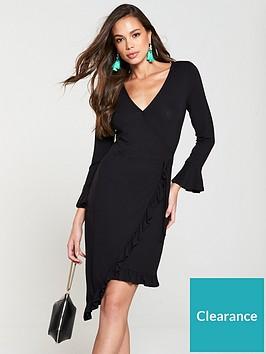 v-by-very-asymmetric-wrap-jersey-dress