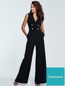 michelle-keegan-tux-jumpsuit-black