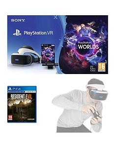 playstation-vr-starter-pack-with-resident-evil-7-biohazard-with-optional-extras
