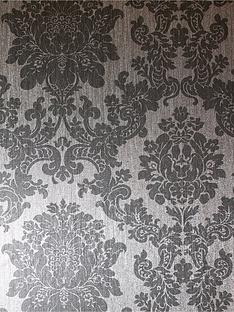 arthouse-foil-damask-silver-wallpaper