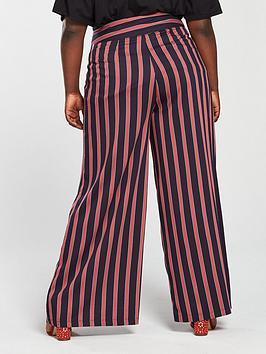 Stripe by Very Wide Curve  Leg Trouser V Online Store i0we3VIXYj