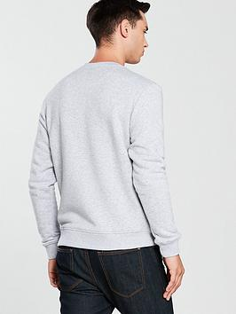 Logo Lacoste Large Crew Sweat Sportswear Discount Great Deals Outlet Explore Online Cheapest  Big Discount Cheap Price YCZDc