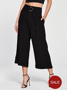 river-island-river-island-wide-leg-crop-trousers--black