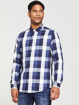 v-by-very-mens-regular-fit-long-sleeved-buffalo-check-shirt-bluegrey
